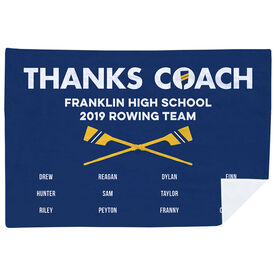 Crew Premium Blanket - Thanks Coach (Horizontal)