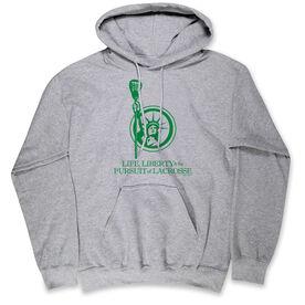 Lacrosse Standard Sweatshirt - Life, Liberty, and the Pursuit of Lacrosse