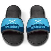 Softball Repwell® Slide Sandals - Team Name Colorblock