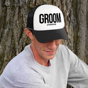 Personalized Trucker Hat - Groom