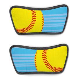 Softball Repwell® Sandal Straps - Ball Reflected