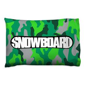 Snowboarding Pillowcase - Top