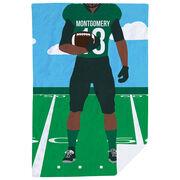Football Premium Blanket - Football Player
