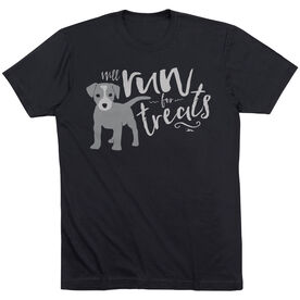 Running Short Sleeve T-Shirt - Will Run For Treats
