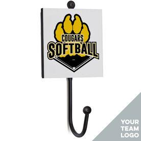 Softball Medal Hook - Your Logo