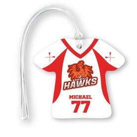 Guys Lacrosse Jersey Bag/Luggage Tag - Custom Team Logo