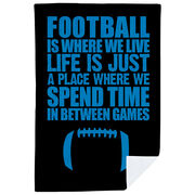 Football Premium Blanket - Football Is Where We Live