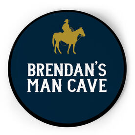 Personalized Circle Plaque - Man Cave