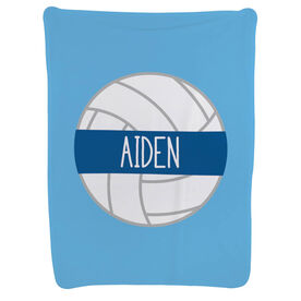 Volleyball Baby Blanket - Personalized Volleyball
