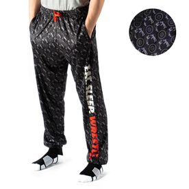 Wrestling Lounge Pants - Eat Sleep Wrestle