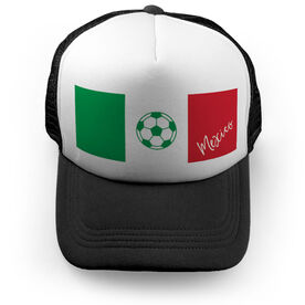 Soccer Trucker Hat - Mexico