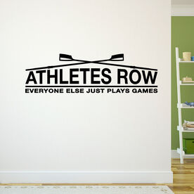 Athletes Row Removable ChalkTalkGraphix Wall Decal