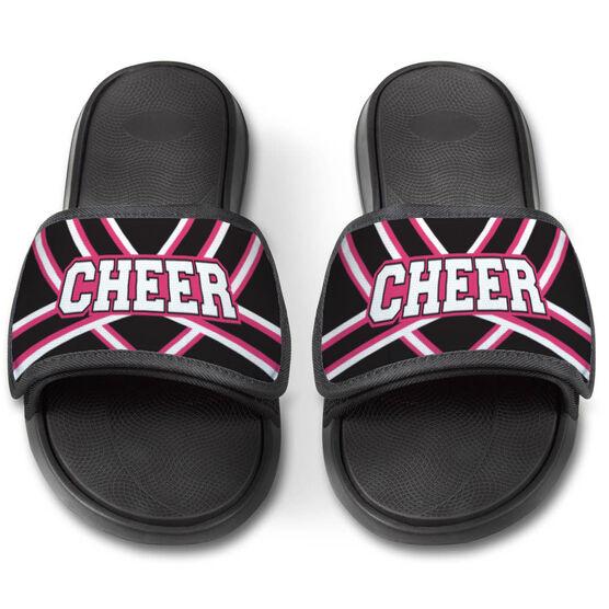 Cheerleading Repwell® Slide Sandals - Cheer Stripes