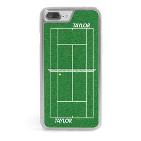 Tennis iPhone® Case - Personalized Court with Net
