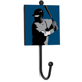 Baseball Medal Hook - Closeup Player