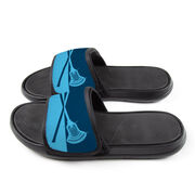 Guys Lacrosse Repwell® Slide Sandals - Colorblock Sticks