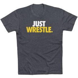 Wrestling Tshirt Short Sleeve Just Wrestle