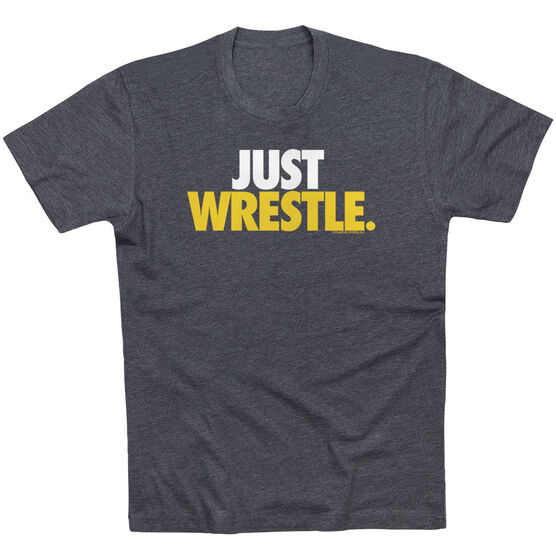 Wrestling Tshirt Short Sleeve Just Wrestle