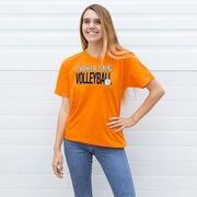 Volleyball T-Shirt Short Sleeve I'd Rather Be Playing Volleyball