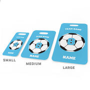 Soccer Bag/Luggage Tag - Personalized Soccer Team Ball