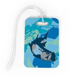 Fly Fishing Bag/Luggage Tag - Watercolor Tarpon