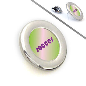 Soccer Lapel Pin SOCCER