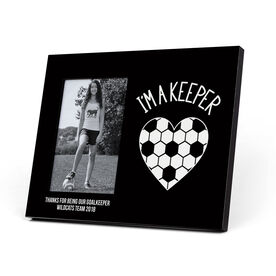 Soccer Photo Frame - I'm A Keeper