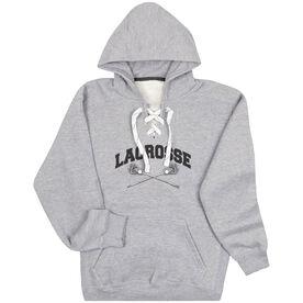 Guys Lacrosse Sport Lace Sweatshirt - Crossed Sticks