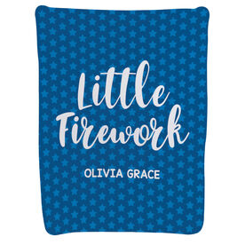 Personalized Baby Blanket - Little Firework