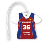 Softball Jersey Bag/Luggage Tag - Personalized Jersey