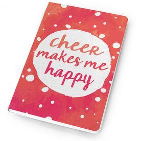 Cheerleading Notebook Makes Me Happy