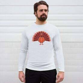 Basketball Long Sleeve Performance Tee - Turkey Player