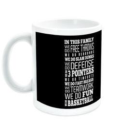 Basketball Coffee Mug We Do Basketball