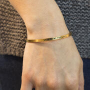InspireME Cuff Bracelet - Live What You Love