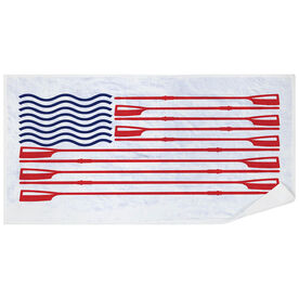 Crew Premium Beach Towel - American Flag