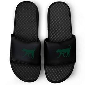 Crew Black Slide Sandals - Dog