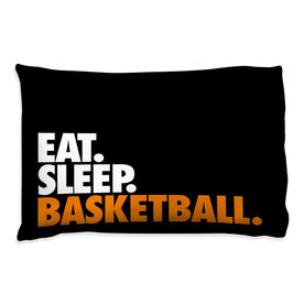 Basketball Pillowcase - Eat Sleep Basketball