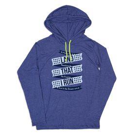 Women's Running Lightweight Hoodie - Land That I Run