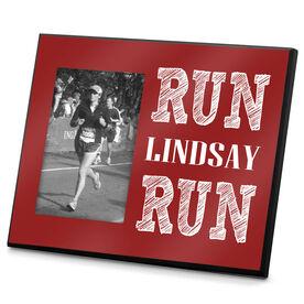 Running Photo Frame Run (Your Name) Run