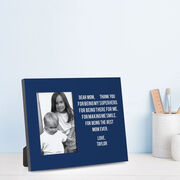 Personalized Photo Frame - Dear Mom Heart