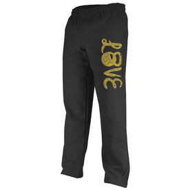 Cross Training Fleece Sweatpants Love Kettlebells