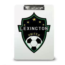 Soccer Custom Clipboard Soccer Your Logo