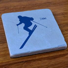 Skiing Stone Coaster - iSki