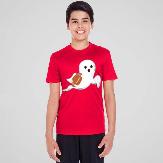 Football Short Sleeve Performance Tee - Ghost