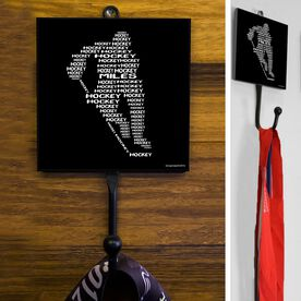 Hockey Hook Personalized Hockey Words Player