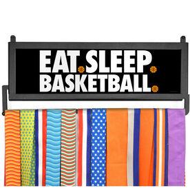 AthletesWALL Medal Display - Eat Sleep Basketball