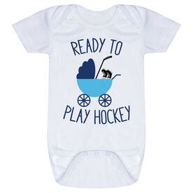 Hockey Baby One-Piece - Ready To Play Hockey