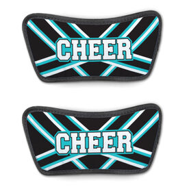 Cheerleading Repwell® Sandal Straps - Cheer Stripes