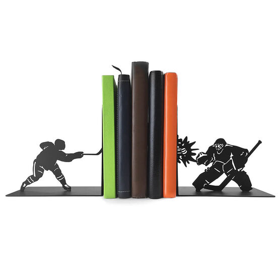 Hockey Bookends Hockey Players