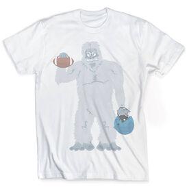 Vintage Football T-Shirt - Yeti To Play